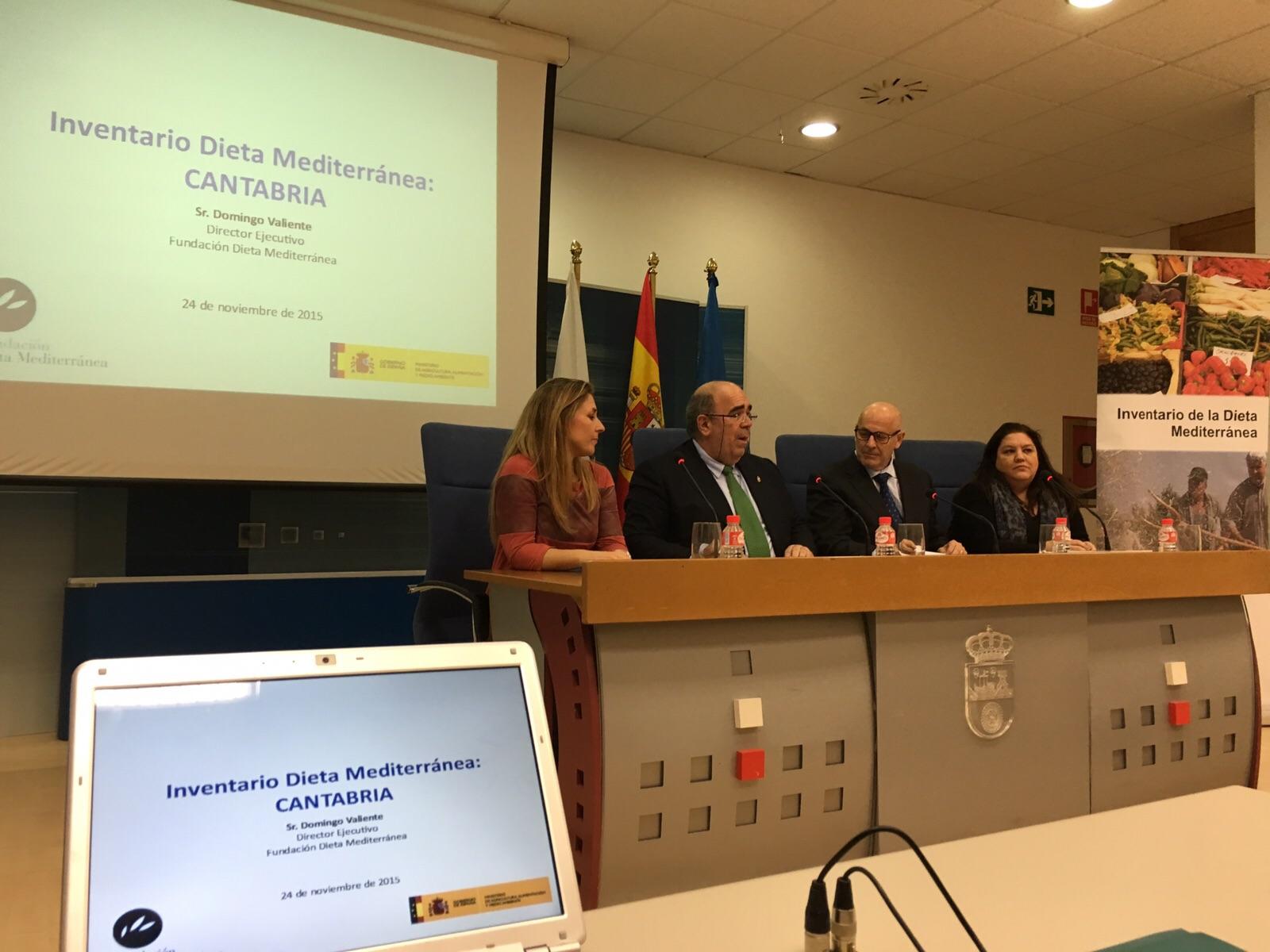 Cantabria se suma al Inventario de la Dieta Mediterránea
