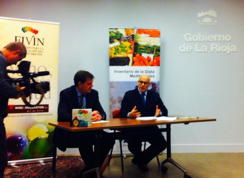 La Rioja es «el reflejo de qué es la dieta mediterránea»