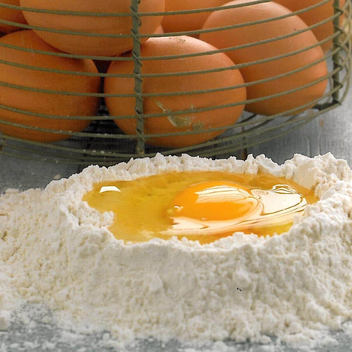 Empanadillas rellenas de huevo