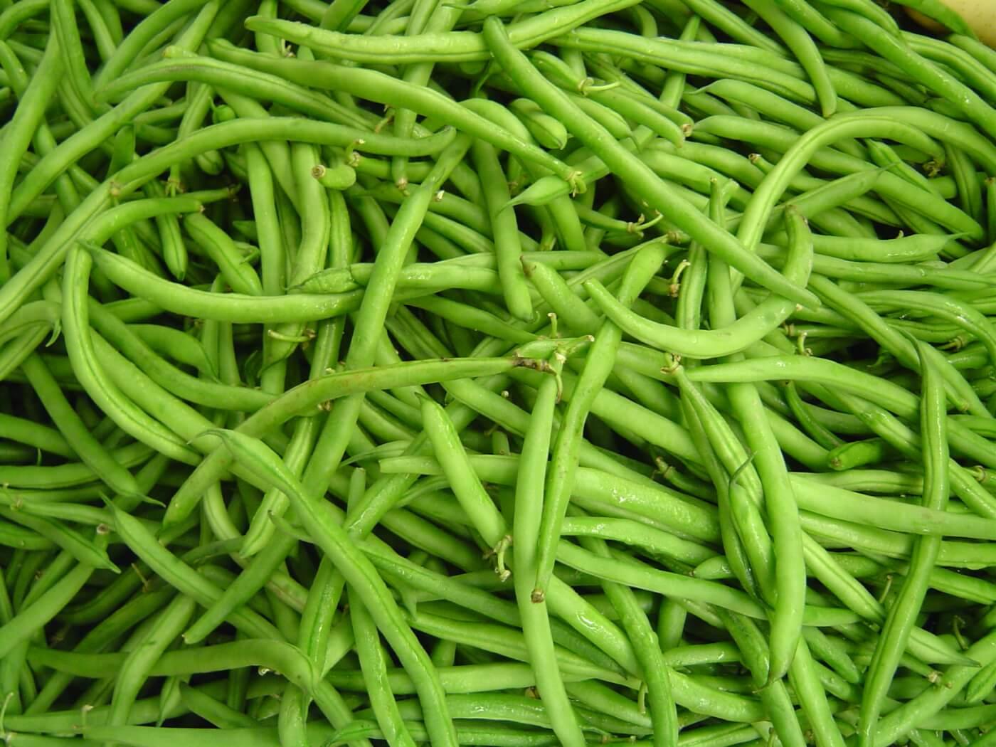 Judías verdes con almendras