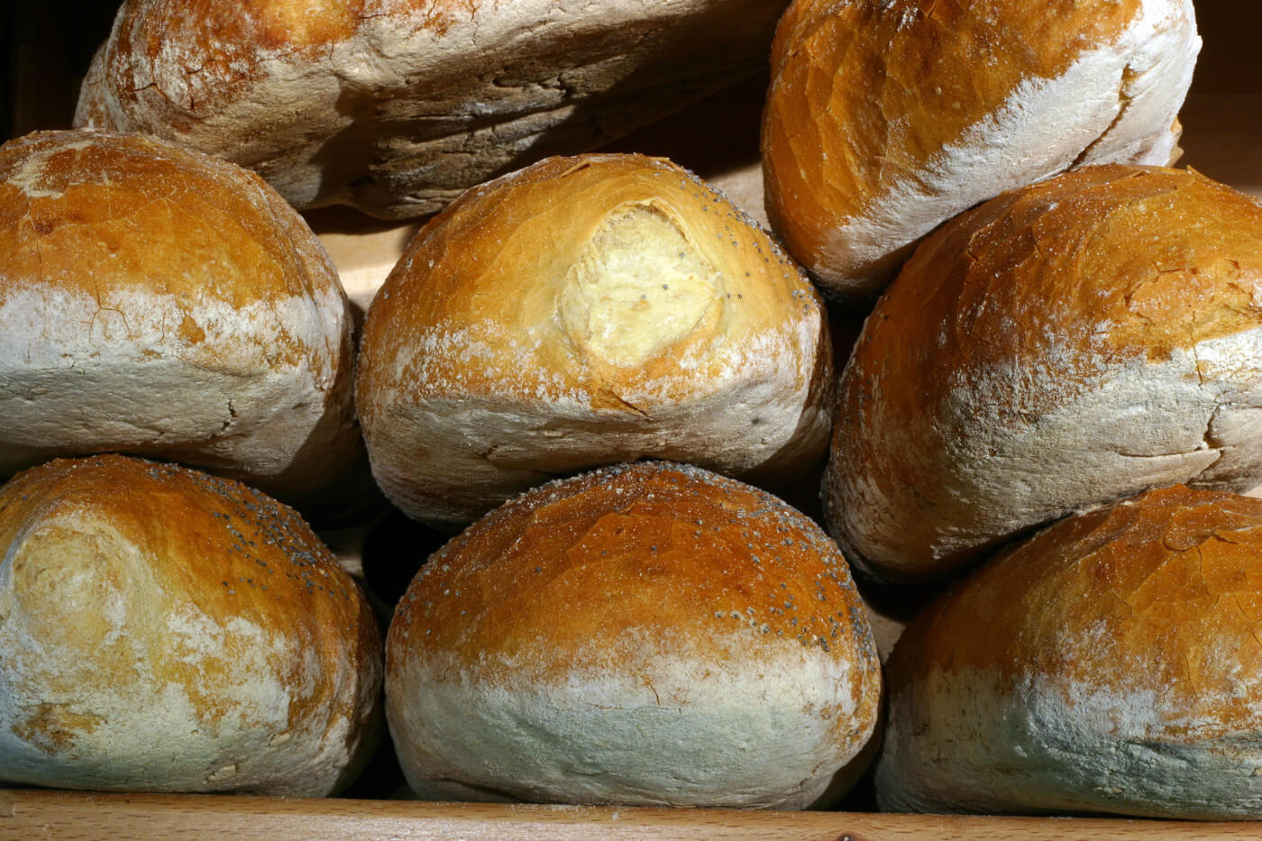 Pan francés o italiano