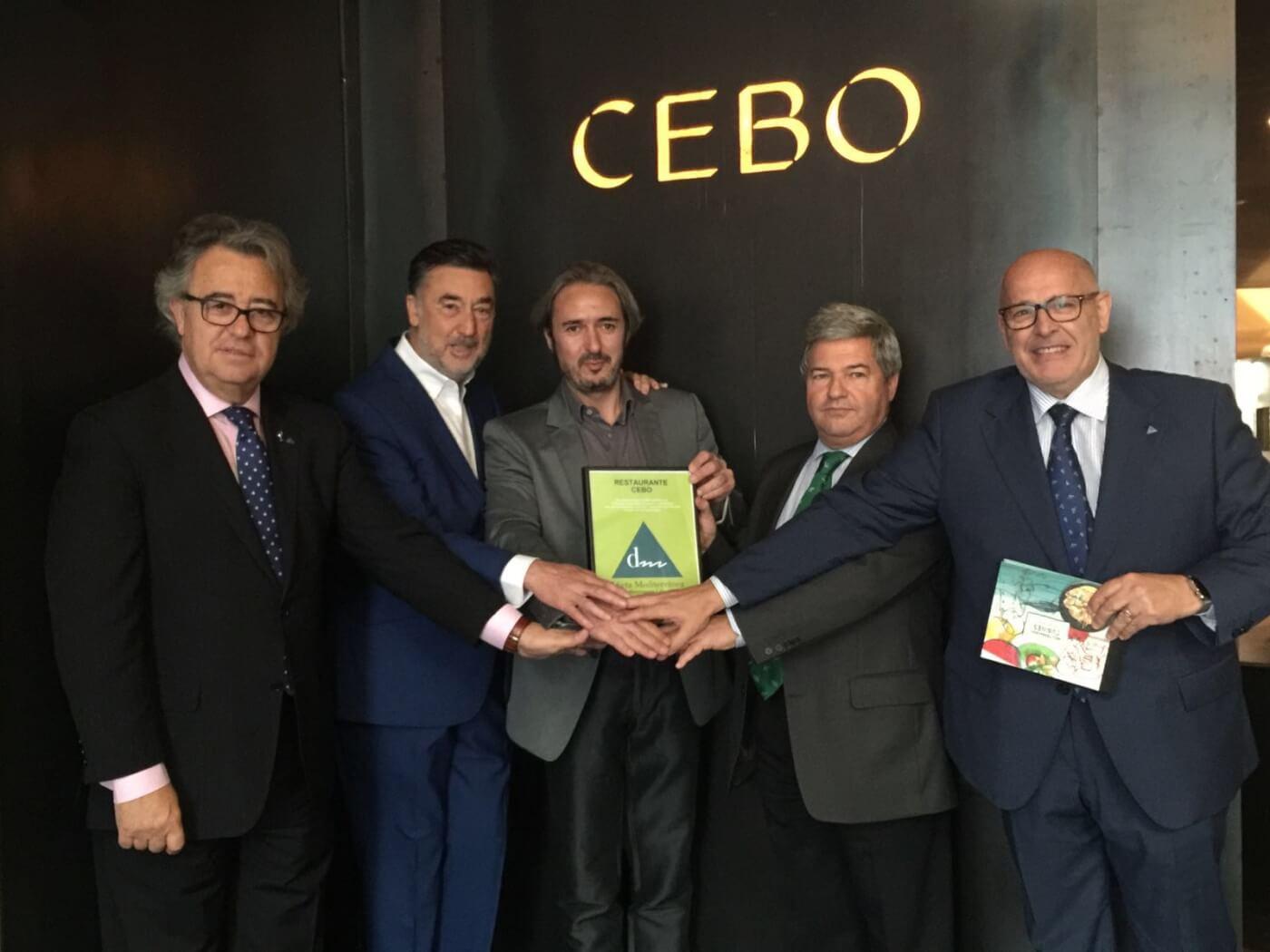 El restaurante Cebo, del Hotel Urban de Madrid nombrado restaurante mediterráneo