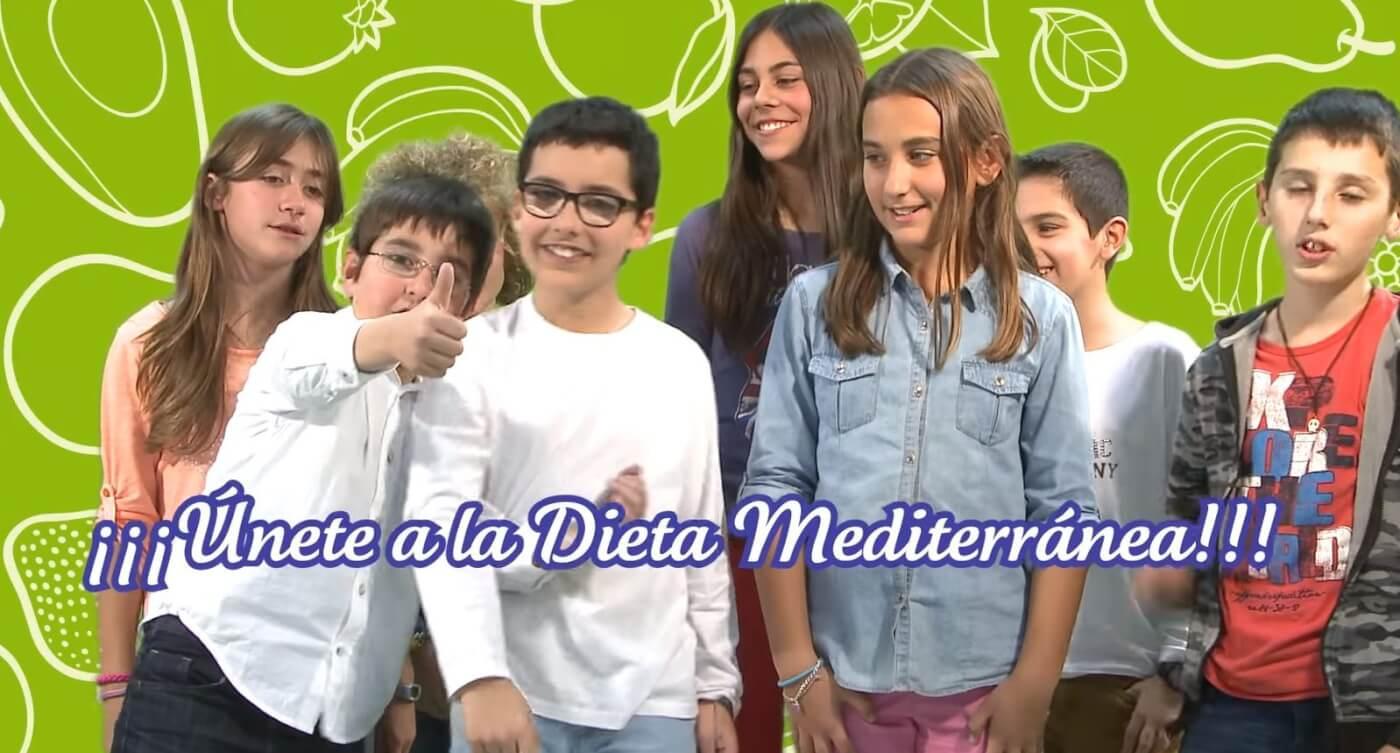 La pirámide de la dieta mediterránea para niños