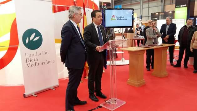Aragón entra a formar parte de la Fundación Dieta Mediterránea