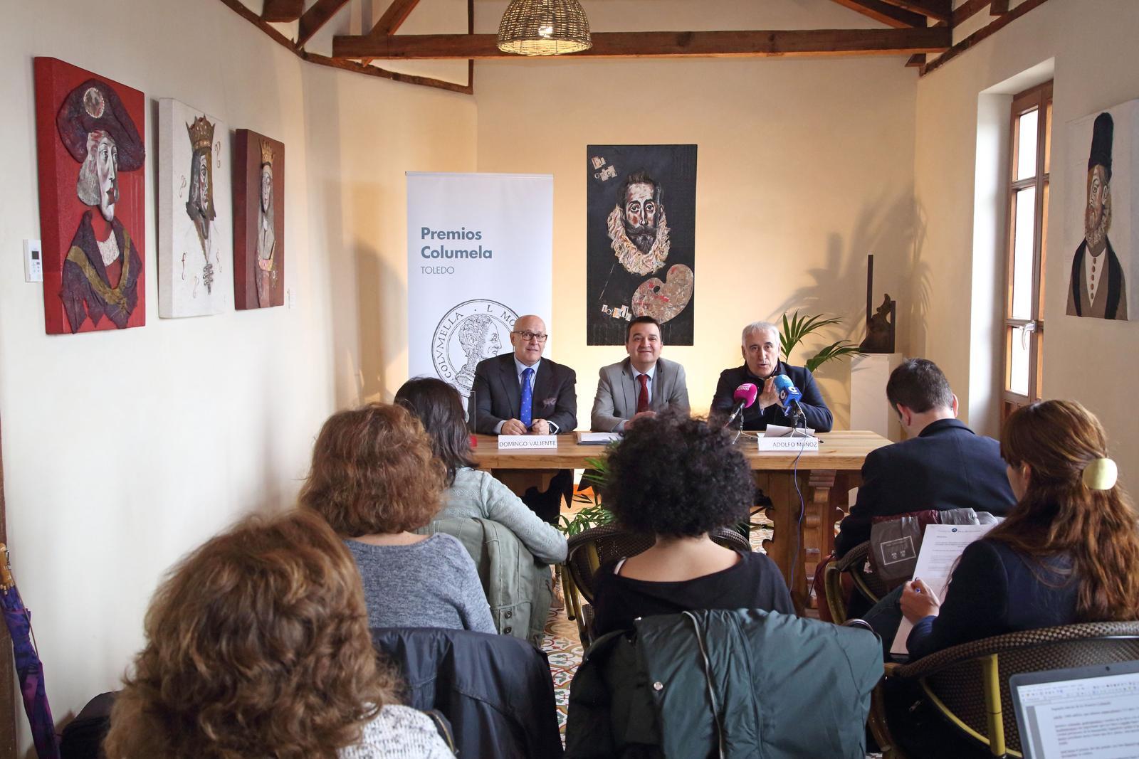 """Los Premios Columela se entregarán """"siempre"""" en Toledo con independencia de quien ocupe la Presidencia de los galardones"""