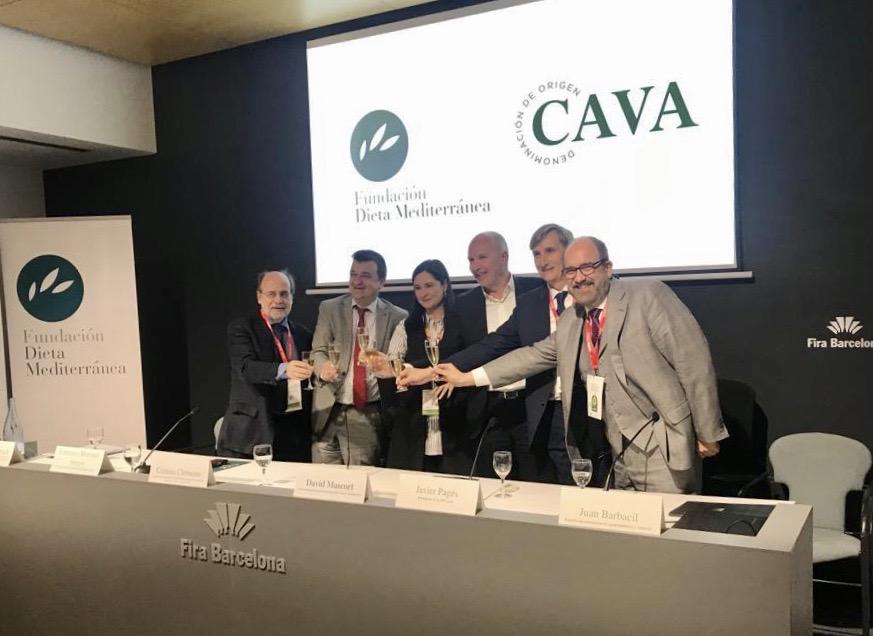 Sostenibilidad, Salud, Cultura y Calidad de producto asociada al territorio son los valores de marca que garantizan el Cava y la Dieta Mediterránea