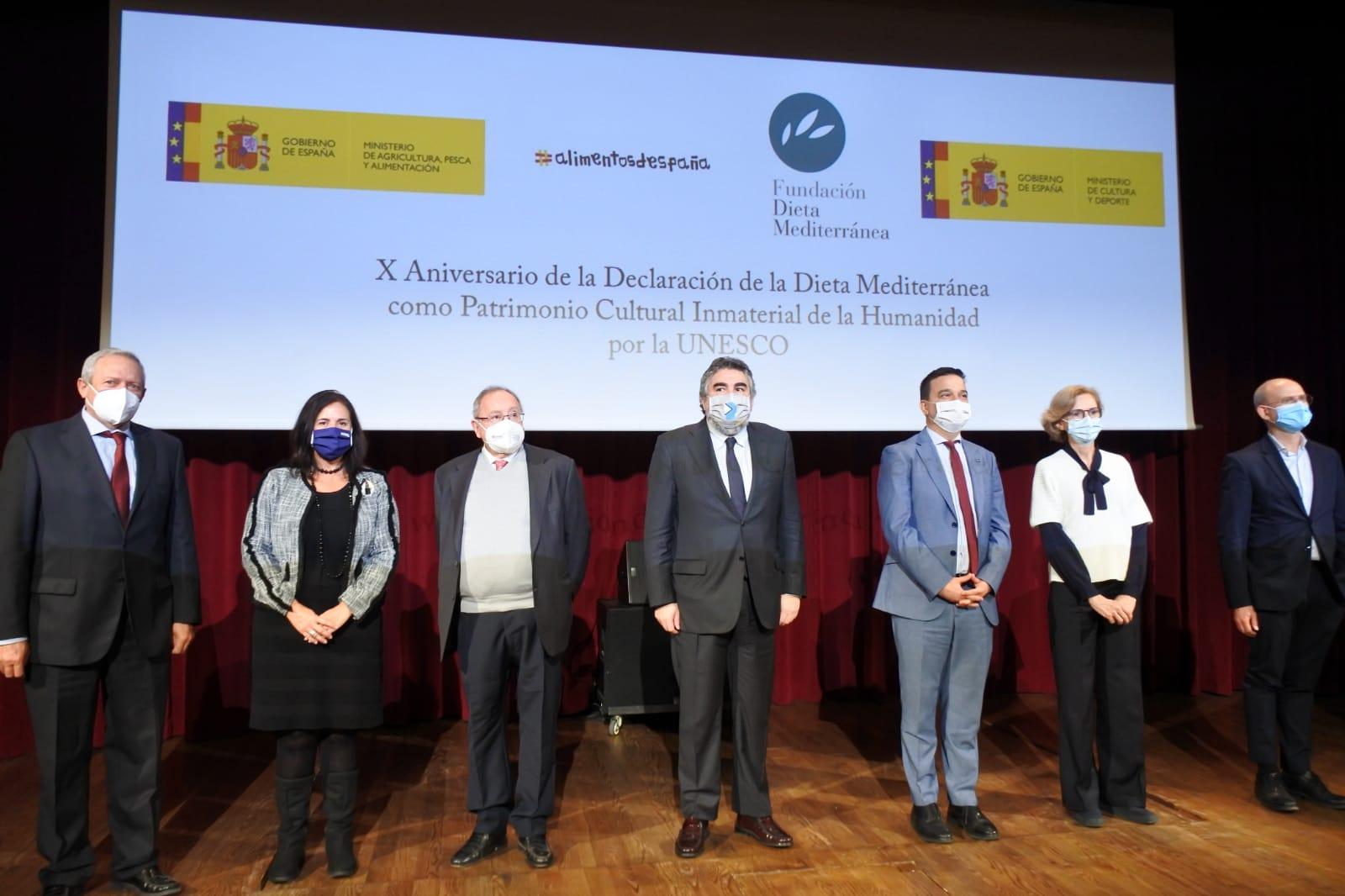 La Dieta Mediterránea celebra su décimo aniversario como Patrimonio Cultural Inmaterial de la Humanidad por la Unesco