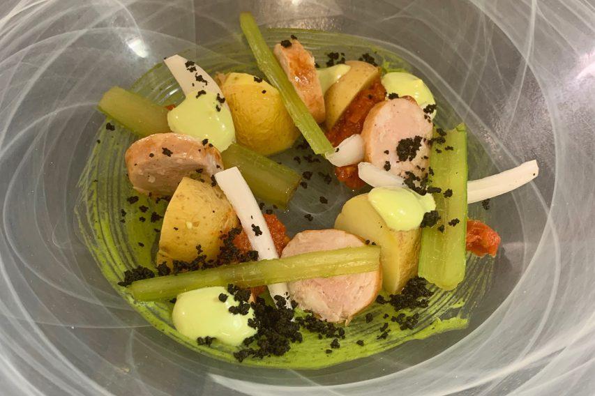 Baturra potato salad